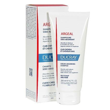 DUCRAY ARGEAL SHAMPOO 200ML - Vider Salud Dermatológica