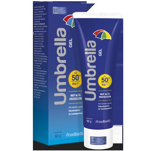 UMBRELLA GEL SPF50+ 60GR - Vider Salud Dermatológica