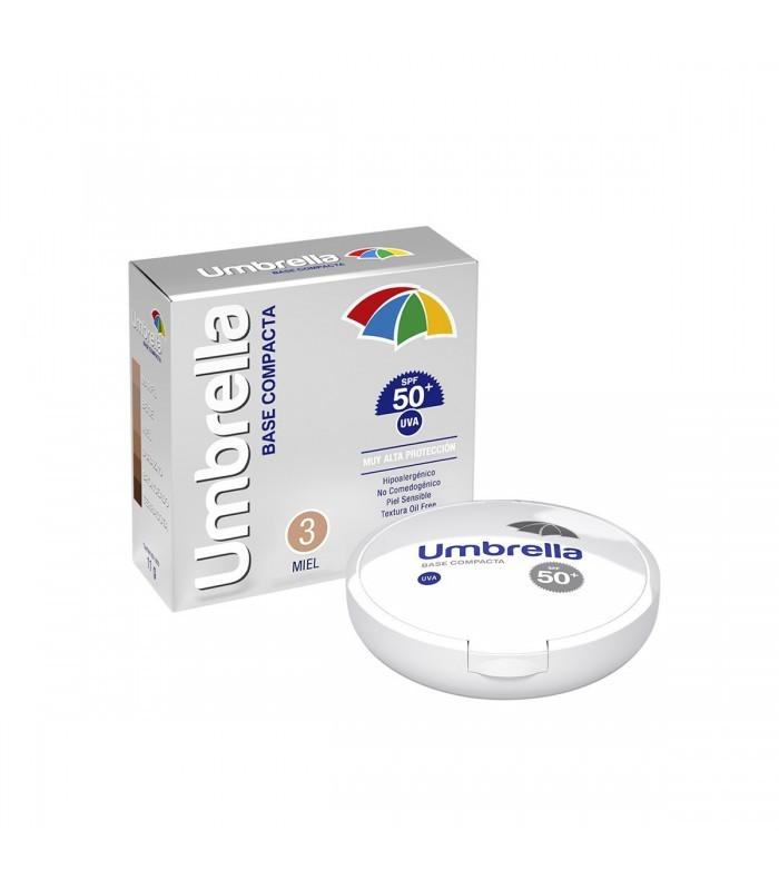 UMBRELLA  COMPACTO MIEL SPF50+ 11GR - Vider Salud Dermatológica