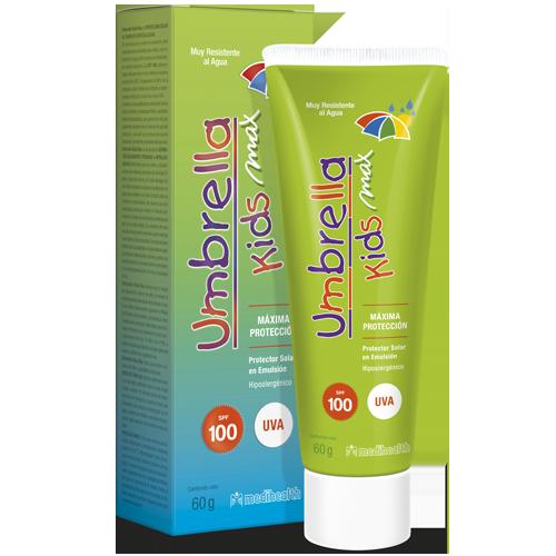 UMBRELLA KIDS MAX SPF100 60GR - Vider Salud Dermatológica