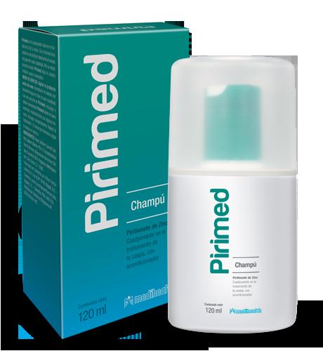 PIRIMED SHAMPOO 120ML - Vider Salud Dermatológica