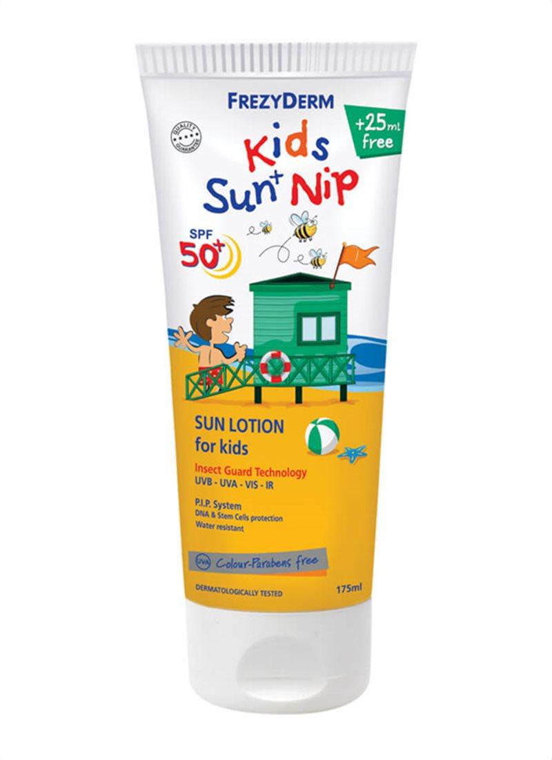 KIDS SUN + NIP SPF50+  175ML - WebDerma Perú