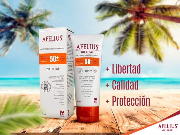 AFELIUS OILFREE 90ML - Vider Salud Dermatológica