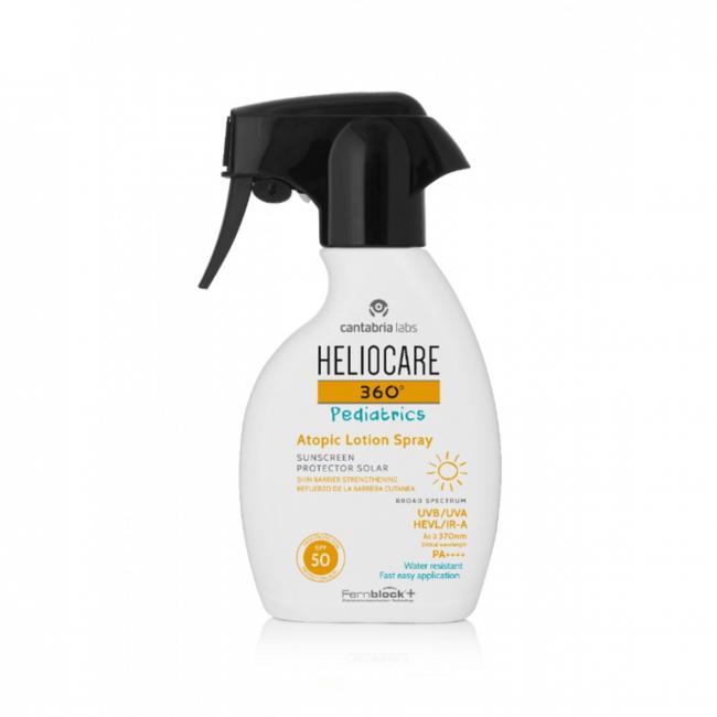 HELIOCARE 360 PEDIATRICS ATOPIC 250ML - Vider Salud Dermatológica