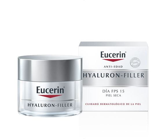 EUCERIN HYALURON FILLER ANTIARRUGAS P/S SPF15 50ML - Vider Salud Dermatológica