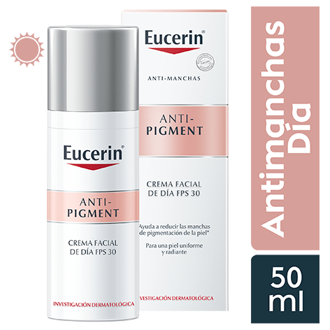 EUCERIN ANTIPIGMENTO DIA SPF30 50ML - Vider Salud Dermatológica
