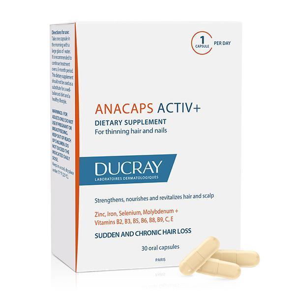 DUCRAY ANACAPS ACTIV+ X30 - WebDerma Perú