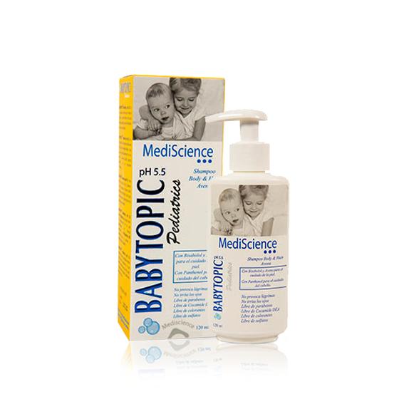 BABYTOPIC PEDIATRICS PH 5.5 LOCION 250ML - Vider Salud Dermatológica