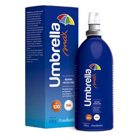 UMBRELLA MAX SPF100 100ML - Vider Salud Dermatológica