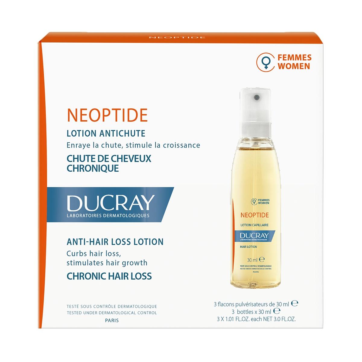 DUCRAY NEOPTIDE 3 X 30ML - Vider Salud Dermatológica