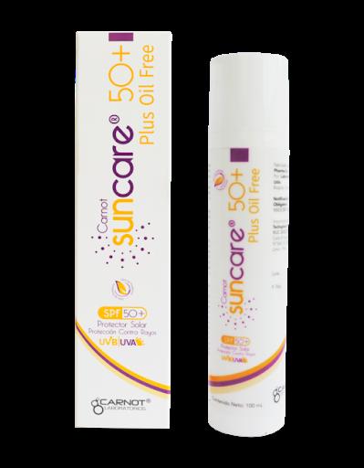 SUN CARE PLUS OIL FREE SPF50+ 100ML - Vider Salud Dermatológica