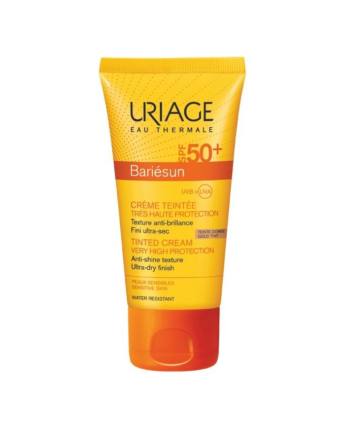 BARIESUN GOLDEN CREAM TEINTE DOREE SPF50+ 50ML - Vider Salud Dermatológica