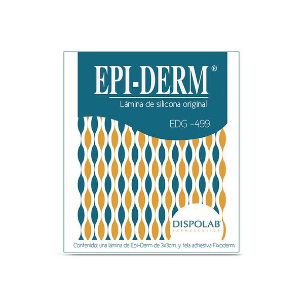 EPI-DERM EDG - 499 (3X3 X 0.09 CM) - Vider Salud Dermatológica
