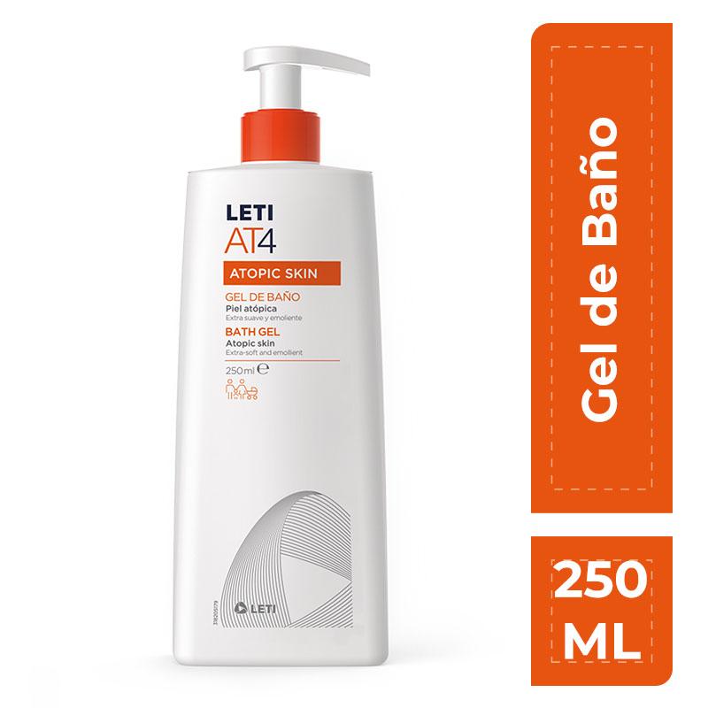 LETI AT4 GEL DE BAÑO 250ML - Vider Salud Dermatológica
